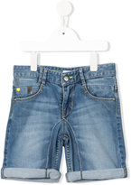 DKNY denim shorts - kids - Cotton/Spandex/Elastane - 12 yrs