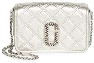 Marc Jacobs Christy Metallic Leather Crossbody Bag
