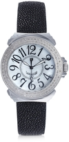 Lancaster Pillola Galuchat Women's Watch w/Diamonds