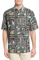 Reyn Spooner Men's Golden Vista Classic Fit Sport Shirt