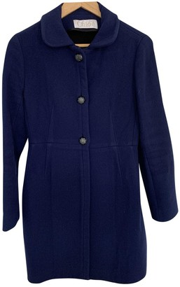 Chloé Blue Wool Coat for Women