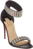 Christian Louboutin Priyadora 100 Leather Sandal