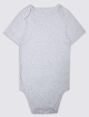 Marks and Spencer Adaptive Pure Cotton Bodysuit (3-16 Yrs)