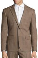 Haight And Ashbury Northwood Modern-Fit Herringbone Wool Suit Jacket