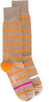 Paul Smith neon stripe simple socks - men - Cotton/Nylon/Polyester/Spandex/Elastane - One Size