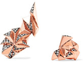 Diane Kordas Eclipse 18-karat Rose Gold Diamond Ear Cuff - one size