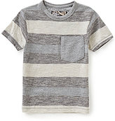 First Wave Little Boys 2T-7 Striped Patch-Pocket Short-Sleeve Tee