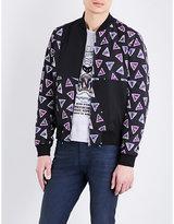 Kenzo Triangle-print Shell Jacket