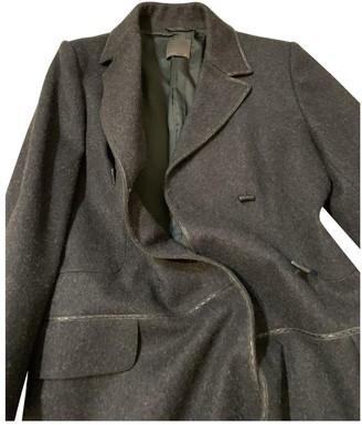 Fendi Grey Wool Coats