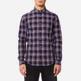 Superdry Men's Raw Oxford Long Sleeve Washbasket Shirt