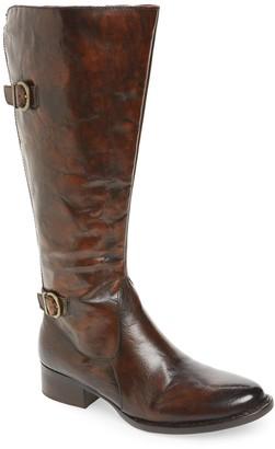 Børn Gibb Knee High Riding Boot - Wide Calf