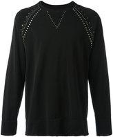 Laneus studded sweatshirt