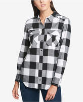 Tommy Hilfiger Cotton Plaid Shirt, Created for Macy's