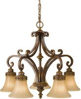 Feiss Drawing Room 5-Light Kitchen Chandelier