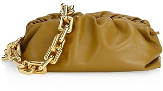 Bottega Veneta The Chain Pouch Leather Clutch