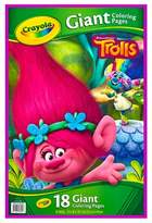Crayola Giant Coloring Pages - Trolls