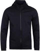 Napapijri Addison Blue Marine Hooded Neoprene Jacket