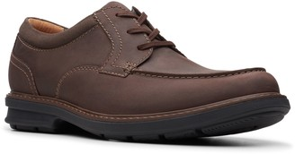 Clarks Collection Men's Leather Lace-Up Oxfords- Rendell Walk