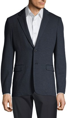 Theory Clinton Marled Ponte Suit Jacket