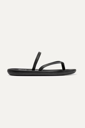 Ancient Greek Sandals Leather Sandals - Black