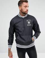 Mitchell & Ness Nba Brooklyn Nets Overhead Jacket