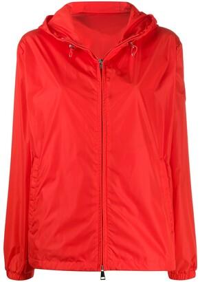 Moncler Short Hooded Zipped Jacket