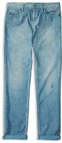 Ralph Lauren Boys' Skinny Distressed Twill Jeans - Sizes 2-7