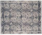 Pottery Barn Bosworth Printed Wool Rug - Gray