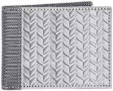 Stewart/Stand RFID Blocking Textured Stainless Steel Slim Wallet With ID