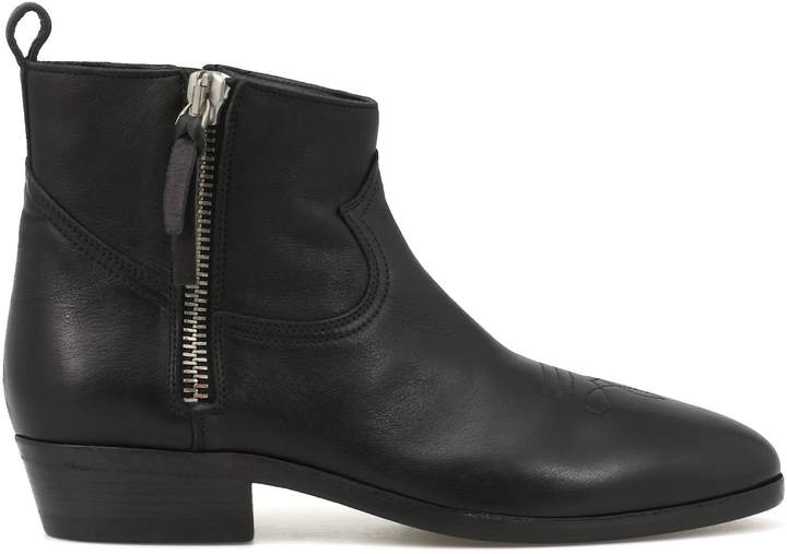 Golden Goose Leather Ankle Boot
