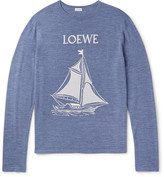 Loewe Jacquard-Knit Wool Sweater