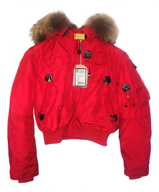 Parajumpers Red Fur Jackets