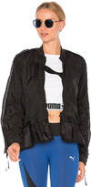 Puma Xtreme Frill Bomber in Black. - size L (also in M,S,XS)