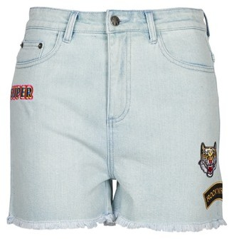American Retro BORIS women's Shorts in Blue