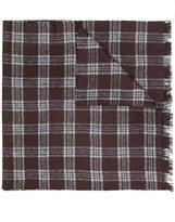 Hackett check woven scarf