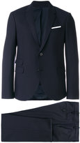 Neil Barrett two piece suit - men - Cotton/Polyester/Spandex/Elastane/Virgin Wool - 46