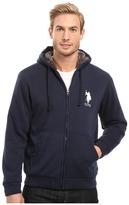 U.S. Polo Assn. Sherpa Lined Fleece Hoodie