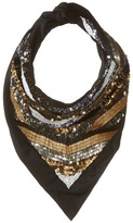 The Kooples Scarf with Sequins and Pearls