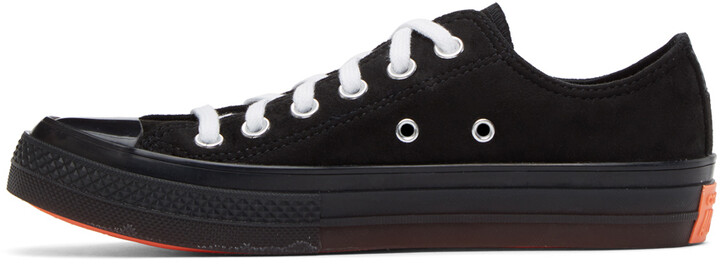 Thumbnail for your product : Converse Black Suede All Star CX OX Sneakers