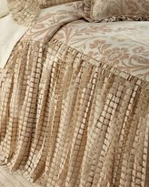 Sweet Dreams Queen Prescilla Skirted Coverlet