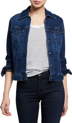 AG Jeans Robyn Button-Front Denim Jacket