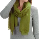 "La Fiorentina Featherweight Cashmere Scarf - 27x70"" (For Women)"