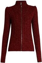 Isabel Marant Daley high-neck zip-through sweater