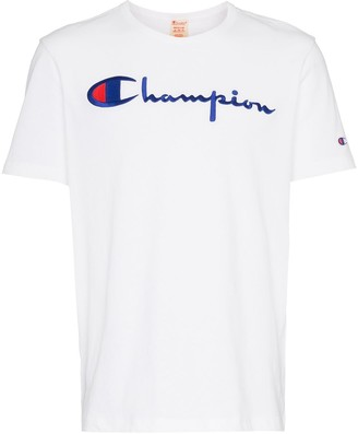 Champion logo embroidery t-shirt
