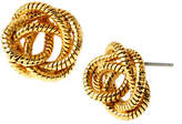 Diane von Furstenberg Belle de Jour Knotted Snake Chain Stud Earring