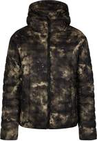 Luke 1977 Paddie Smokey Camo Quilted Hooded Jacket