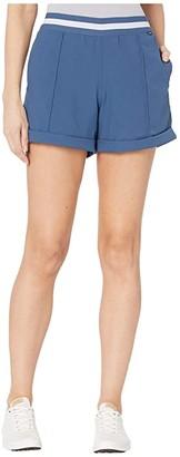 Puma Elastic Shorts (Dark Denim) Women's Shorts