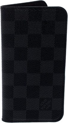 Louis Vuitton Damier Graphite iPhone 10 Folio Case
