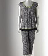 Vera Wang Simply vera pajamas: chic escape pajama set - women's