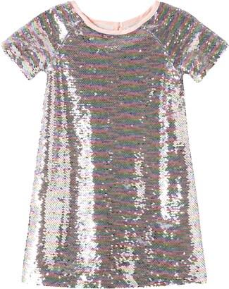 Peek Aren't You Curious Kids' Bianca Flip Sequin Dress